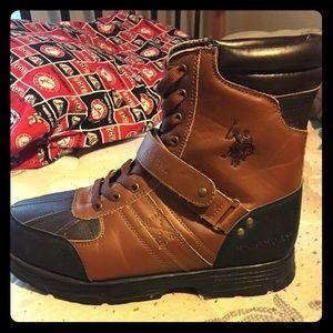 U.S. polo boots